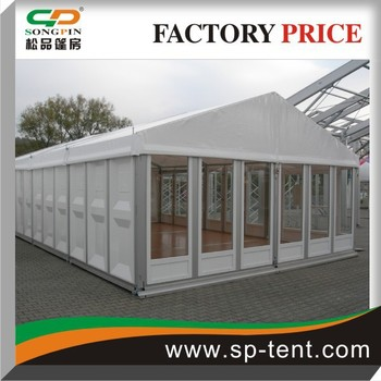 Abs Solid Wall Big Event Wedding Tent With Wooden Floor