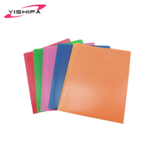 OEM factory cheap price custom printed A4 size 3 prongs pocket clear pp plastic decorate folders with good quality