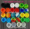7ml silicone jars dab wax containers, silicon container house , butane wax oil silicone container