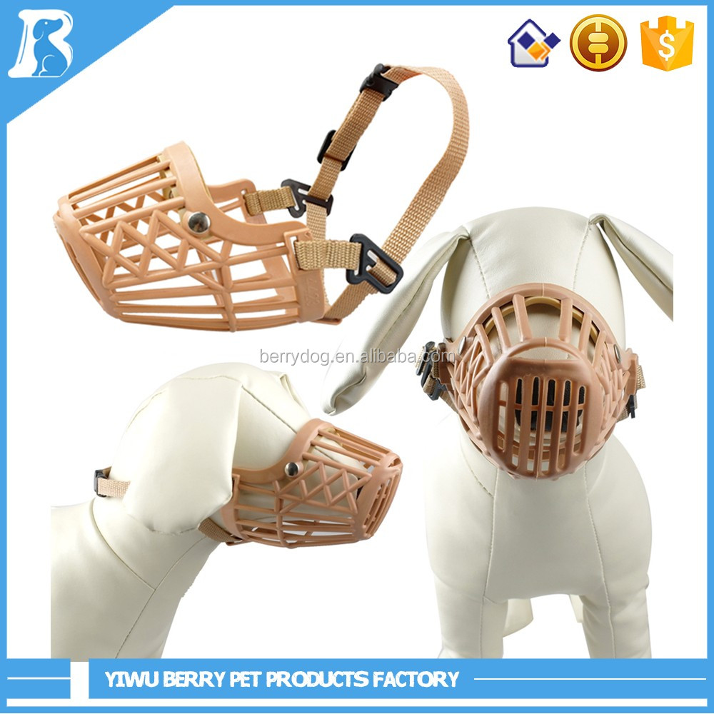 Berry 6 Size Brown Guardian Gear Plastic Dog Basket Muzzle