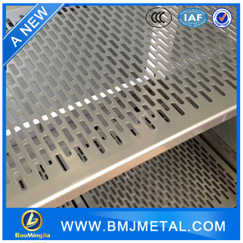 Cheap Slotted Holes Perforated Metal Panels