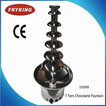 41'' 7 Tiers Classical Wedding Party Chocolate Fountain