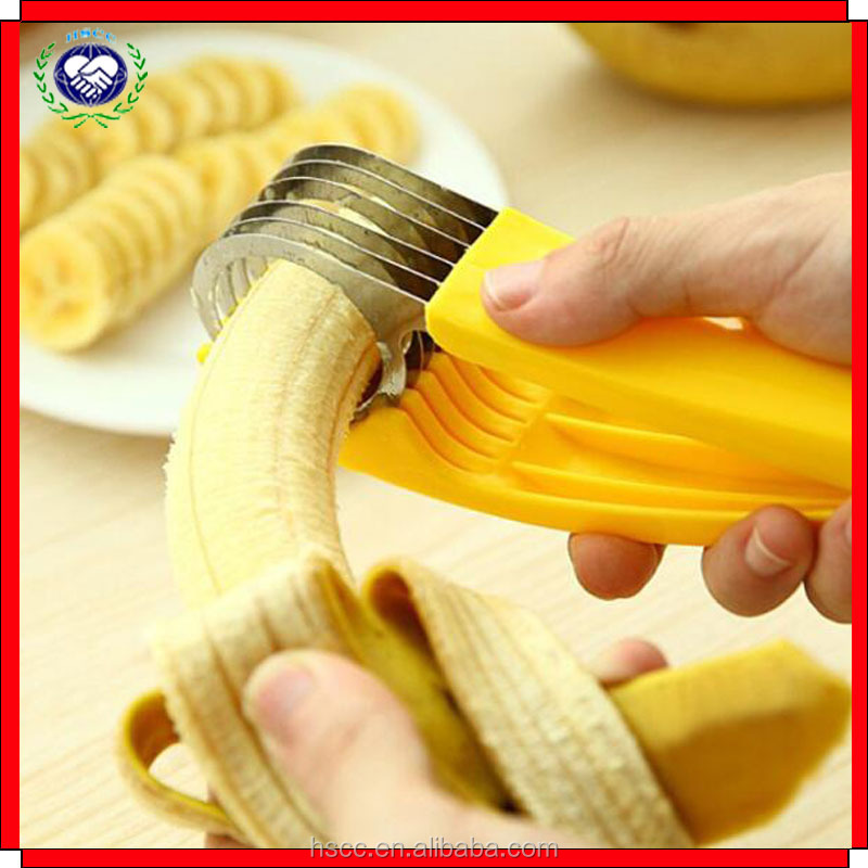 Factory supply creative banana cucumber ham magic chips cutter chips knives