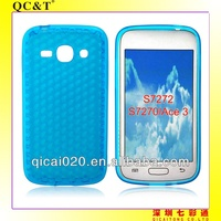housing cover TPU case for Samsung S7270/S7272/GALAXY ACE 3
