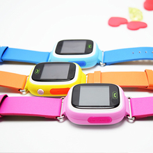 2018 new 1.22 Colorful Touch Screen Remote photo SOS Smartwatch GPS Tracking Kids Smart Watch