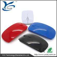 Best fancy flat computer mouse/optical mouse for computers 2.4g wireless optical mouse driver