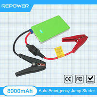 Powerful mini 12V auto jump starter lipo car battery pen power bank
