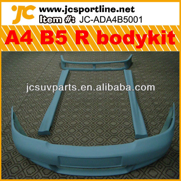 1998-2002 RG Style Fiberglass A4 B5 body kit for Audi A4 B5