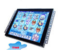 19inch game monitor with touch USB overlay kit