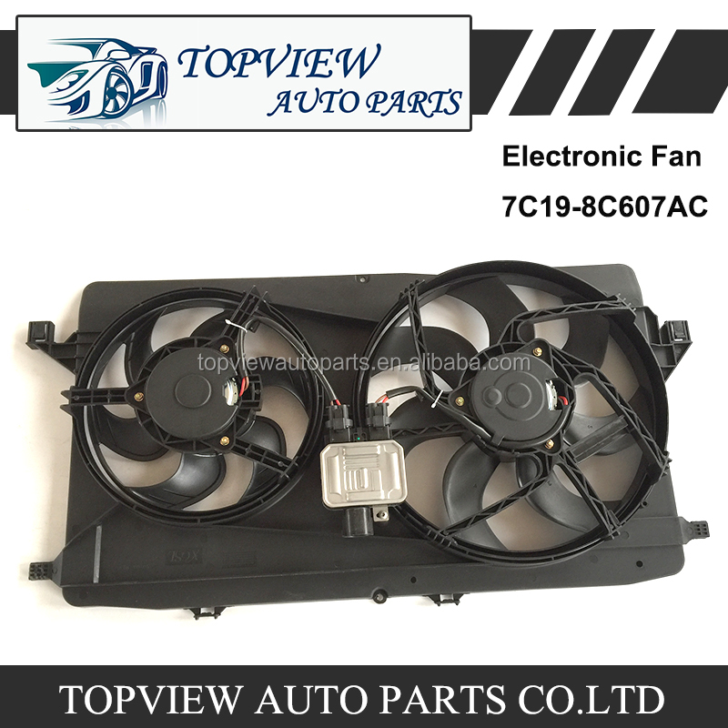 Original Electronic Fan 7C19-8C607AC for Transit V348