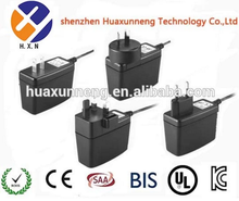 wall plug power supply 15V 800mA Wall mounted adapter with CE ROHS FCC ERP CB GS TUV CCC PSE approved switching power supply