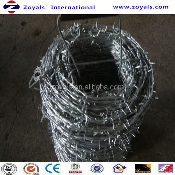 ISO9001:2008 Good Quality Used Barb Wire For Sale In Anping