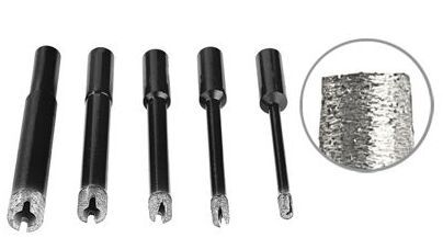 crown sintered diamond drill bit for granite and marble