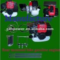 bicycle engine kits/ rear mounted bike gasoline engine kit/ 49cc 4 stroke bicycle engine kit