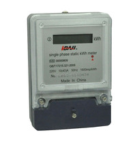 Single phase home used digital electric meter energy meter with CE certificate