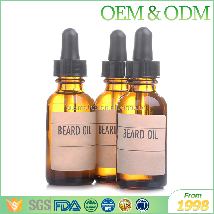 Sample free premium gift natural beard oil skin conditioner beard oil oem