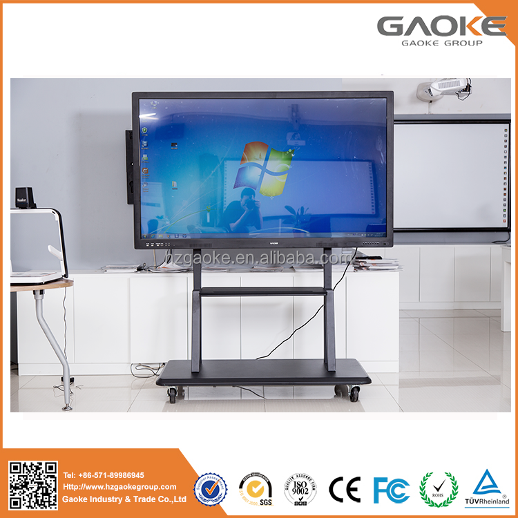 Led television no projector interactive whiteboard flat panel low cost touch screen monitor