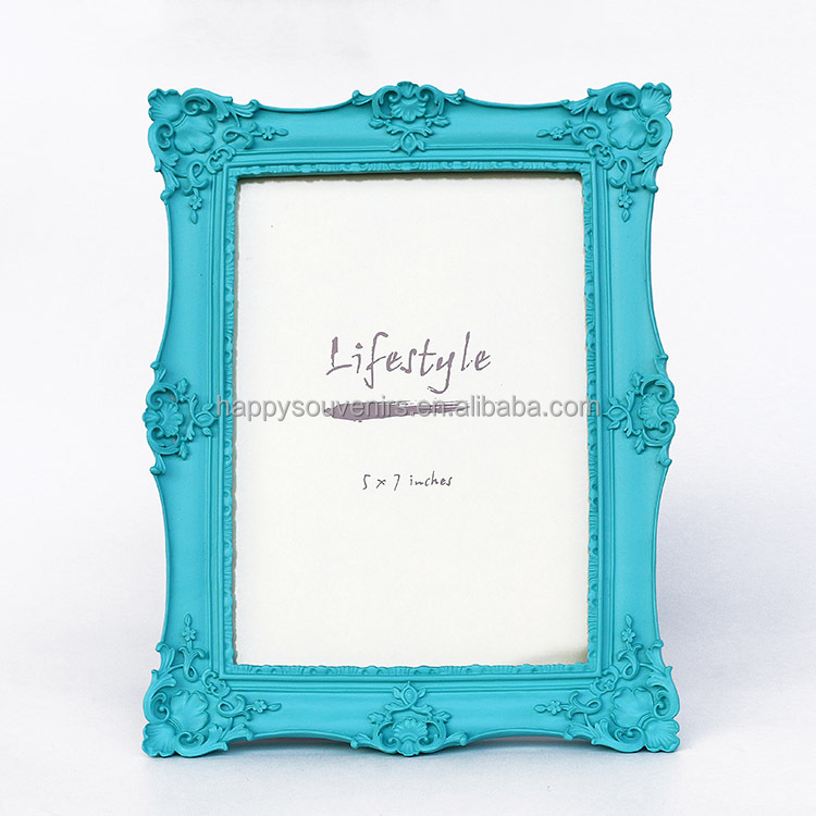 Simple design home decoration resin photo/picture frame