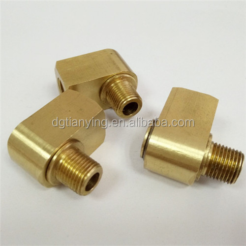 Brass hardware fitting push in fitting for pipe fiting component
