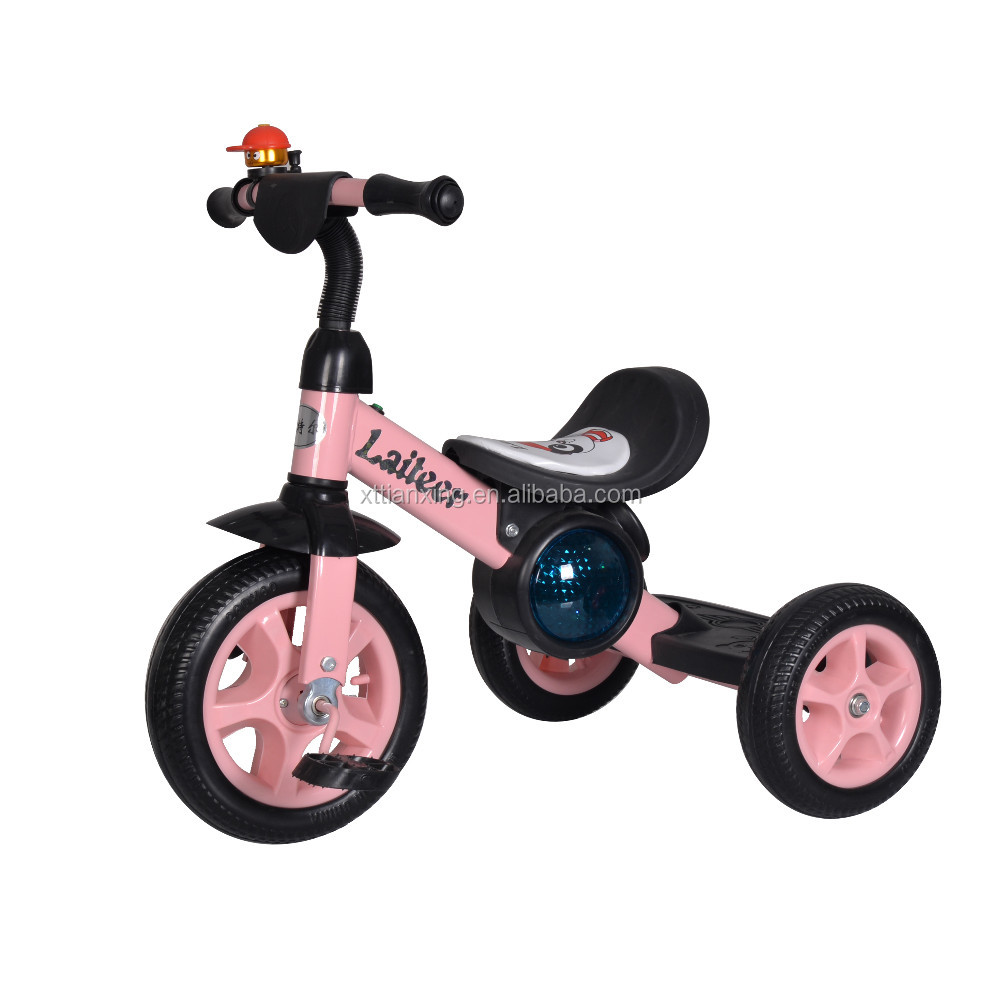 2016 New arrival music and light child stroller trike, smart trike,recument trike