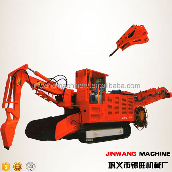 Crawler haggloader with 32HP Engine