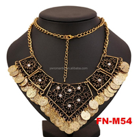 New Stocks Fashion Gold Coin Necklace