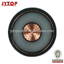 ELECTRIC CABLE MV CABLE 26/35kV COPPER CONDUCTOR XLPE INSULATED POWER CABLE