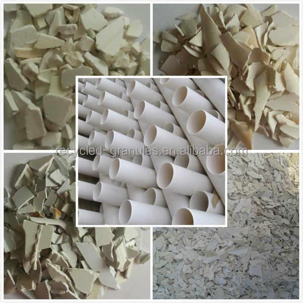 good price per ton pvc recycle plastic scrap for fence/regrind pvc pipe scrap