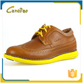 Portable slip-on comfort breathable mens casual leather shoes