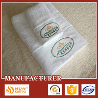 100% cotton thick and big hotel bath towel brands