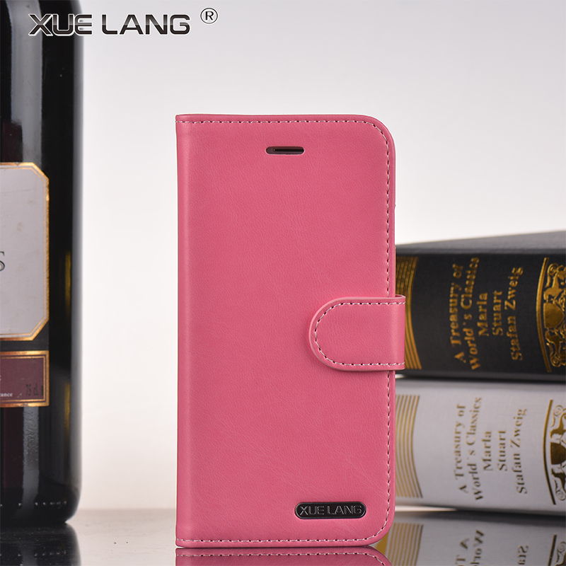 Newest soft Leather case for apple iPhone 7 Stand Wallet Flip Cover For Samsung for apple mobile phone Case
