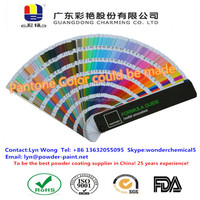 Customized Color Pantone Card Powder Coating for Metal