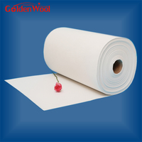 Ceramic Fiber Wool Paper Refractory Applied to Glass Bend Mold
