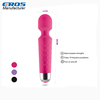 Promotional Electric 18 Speed Waterproof USB rechargeable handheld Vaginal Magic Wand Massage Vibrator For Female
