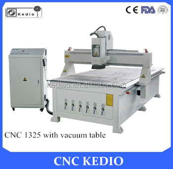 New Design High-quality bargain-price 1325 cnc router with vacuum table