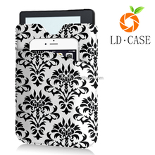 Soft stripes blanket leather case for Amazon kindle fire Hdx 7 flip stand cover case