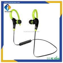 2017 Fashion in-ear stereo bluetooth headset earphones, bluetooth earphone for sport