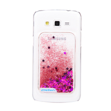 2D pc blank sublimation phone case glitter case for samsung galaxy s4 mini i9190