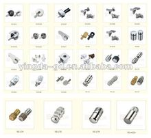 Furniture cabinet metal shelf support pins from cabinet brackets factory