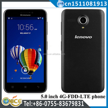 Original Lenovo A606 4G FDD LTE quad core 4G R0M 5.0 Inch mobile phone dealers low range china mobile phone big screen