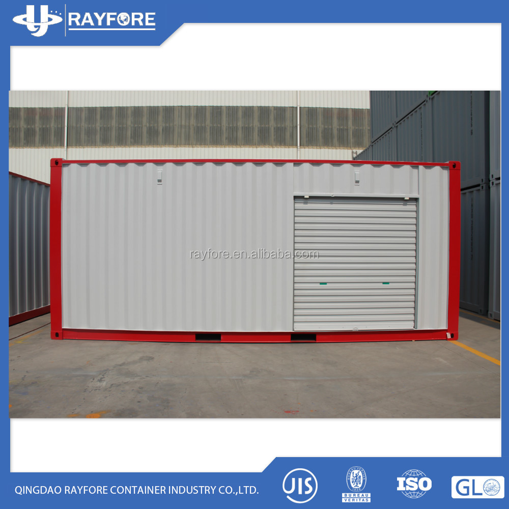 20ft side open self stroage container 20hc storage shipping container