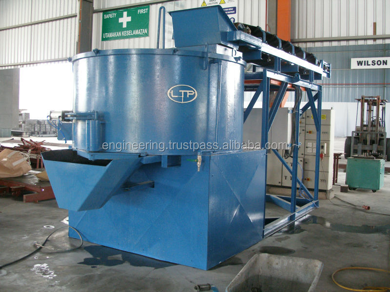 LTP Pan Concrete Mixer