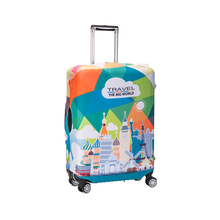 Custom pattern travel luggage bag cover
