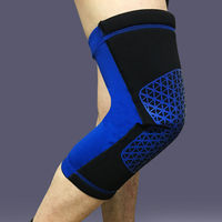 popular knee support colorful knee braces for sports fan