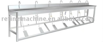 Foot Pedal type washing machine/Food processing machine