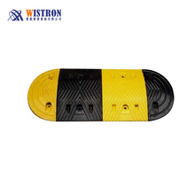 Reflective Speed Rubber Hump