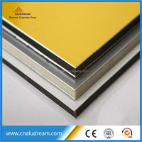 anodized exterior decorative metal wall panel alucobond panel price