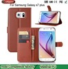 Free Samples Cover for Samsung Galaxy s7 plus case pu leather flip cover case for galaxy s7 plus