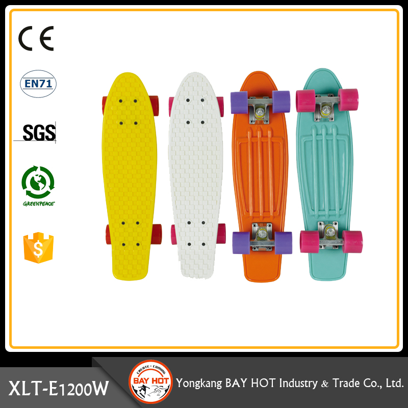 Specially design prime quality cheap plastic skateboard cruiser