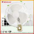 16 inch remote control household use electric wall mounted fan